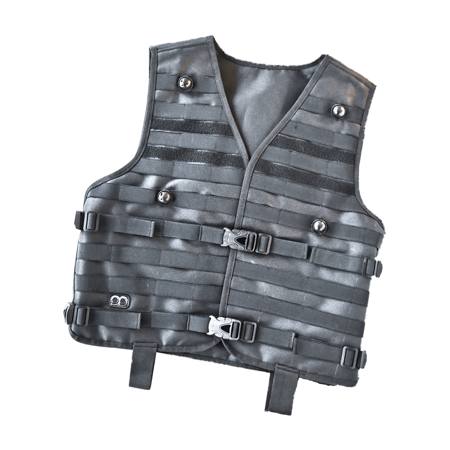 lasertag wearables vest black